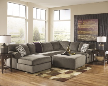 Ashley Jessa Place 3pc Sectional Left Side Chaise Available Online in Dallas Fort Worth Texas