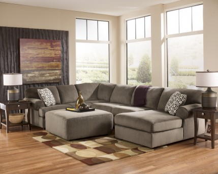 Ashley Jessa Place 3pc RAF Sectional Available Online in Dallas Fort Worth Texas