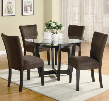 Coaster Bloomfield 5pc Round Dining Room Set Available Online in Dallas Fort Worth Texas