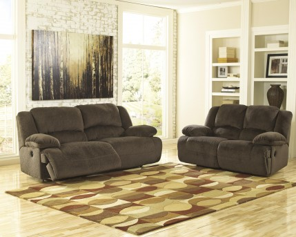 Ashley Toletta 2pc Recliner Sofa and Loveseat Set Available Online in Dallas Fort Worth Texas