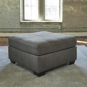 Ashley Pitkin Slate Oversized Accent Ottoman Available Online in Dallas Fort Worth Texas