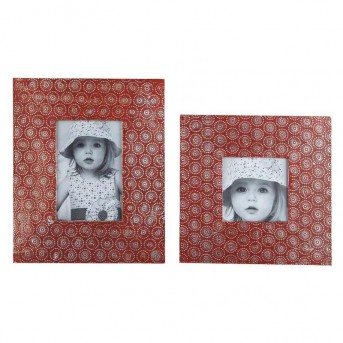 Ashley Bansi Orange Photo Frame Available Online in Dallas Fort Worth Texas