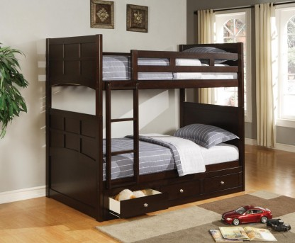 Coaster Jasper Twin/Twin Bunk Bed Available Online in Dallas Fort Worth Texas