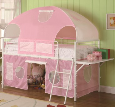 Coaster Sweetheart Twin Tent Loft Bed Available Online in Dallas Fort Worth Texas