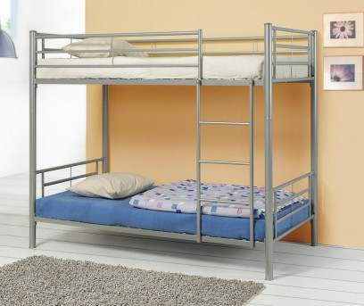 Coaster Denley Silver Twin/Twin Bunk Bed Available Online in Dallas Fort Worth Texas