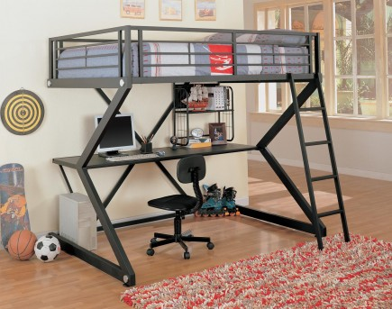 Coaster Workstation Loft Bed Available Online in Dallas Fort Worth Texas