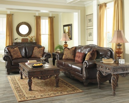 Ashley North Shore 3pc Coffee Table Set Available Online in Dallas Fort Worth Texas