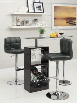 Coaster Dia Revolving Bar Table Available Online in Dallas Fort Worth Texas