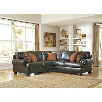 Ashley Nesbit DuraBlend Right Arm Facing Sofa Available Online in Dallas Fort Worth Texas