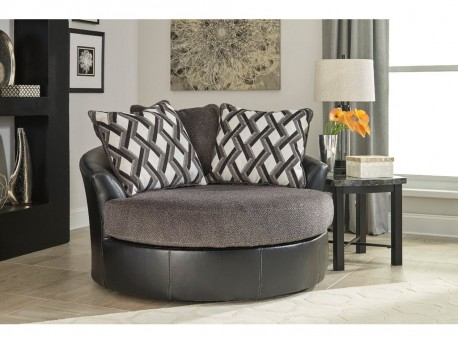 Ashley Kumasi Oversized Swivel Accent Chair Available Online in Dallas Fort Worth Texas