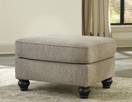 Ashley Blackwood Taupe Ottoman Available Online in Dallas Fort Worth Texas