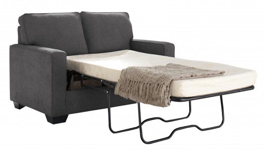 Ashley Zeb Charcoal Twin Sofa Sleeper Available Online in Dallas Fort Worth Texas