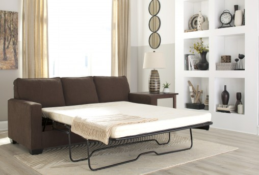 Ashley Zeb Espresso Queen Sofa Sleeper Available Online in Dallas Fort Worth Texas