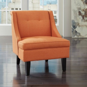 Ashley Clarinda Orange Chair Available Online in Dallas Fort Worth Texas