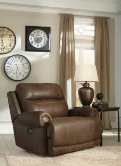 Ashley Austere Zero Wall Power Wide Recliner Available Online in Dallas Fort Worth Texas