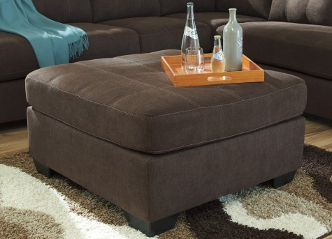 Ashley Maier Walnut Ottoman Available Online in Dallas Fort Worth Texas