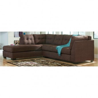 Ashley Maier Walnut Right Arm Facing Sofa Available Online in Dallas Fort Worth Texas
