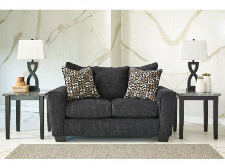 Ashley Wixon Slate Loveseat Available Online in Dallas Fort Worth Texas