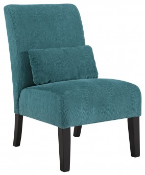 Ashley Annora Teal Accent Chair Available Online in Dallas Fort Worth Texas