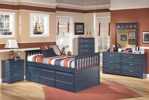 Ashley Leo 5pc Twin Trundle Bedroom Group Available Online in Dallas Fort Worth Texas