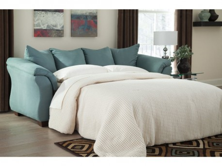 Ashley Darcy Sky Full Sleeper Sofa Available Online in Dallas Fort Worth Texas