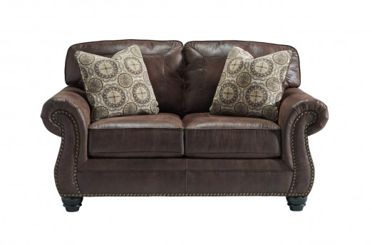 Ashley Breville Espresso Loveseat Available Online in Dallas Fort Worth Texas