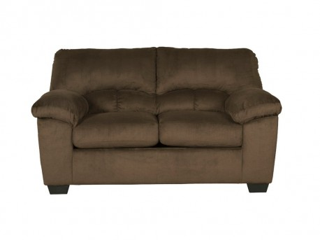 Ashley Dailey Chocolate Loveseat Available Online in Dallas Fort Worth Texas