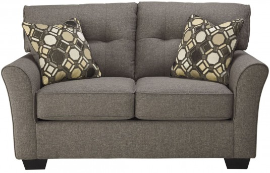 Ashley Tibbee Slate Loveseat Available Online in Dallas Fort Worth Texas