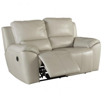 Valeton Cream Reclining Loveseat Available Online in Dallas Fort Worth Texas