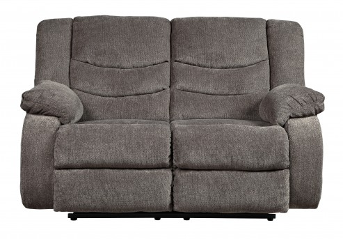 Ashley Tulen Gray Reclining Loveseat Available Online in Dallas Fort Worth Texas