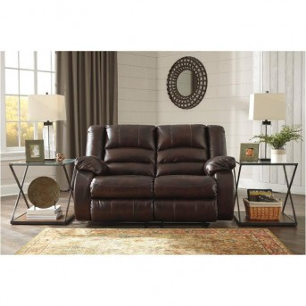 Ashley Levelland Cafe Reclining Loveseat Available Online in Dallas Fort Worth Texas