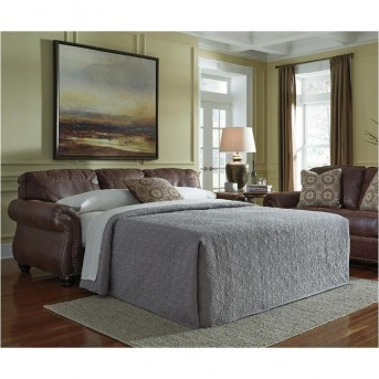 Ashley Breville Espresso Queen Sofa Sleeper Available Online in Dallas Fort Worth Texas
