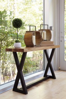 Ashley Wesling Sofa Table Available Online in Dallas Fort Worth Texas