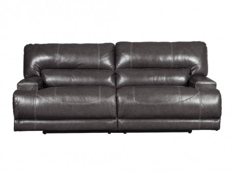 Ashley McCaskill Gray Reclining Sofa Available Online in Dallas Fort Worth Texas