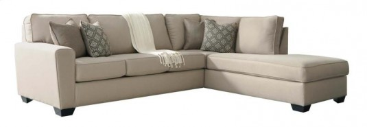 Ashley Calicho Ecru Left Arm Facing Sofa Available Online in Dallas Fort Worth Texas
