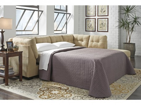Ashley Maier Cocoa Left Arm Facing Full Sofa Sleeper Available Online in Dallas Fort Worth Texas
