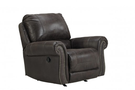 Ashley Breville Charcoal Rocker Recliner Available Online in Dallas Fort Worth Texas