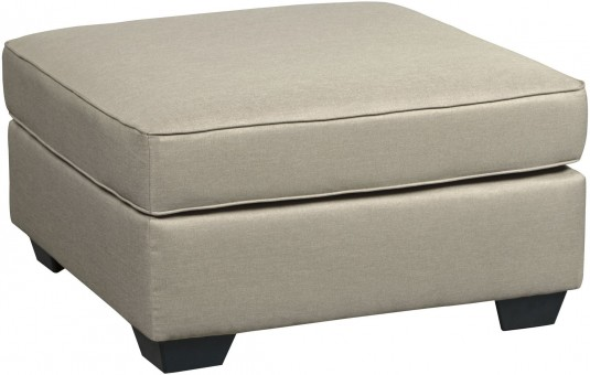 Ashley Calicho Ecru Oversized Accent Ottoman Available Online in Dallas Fort Worth Texas