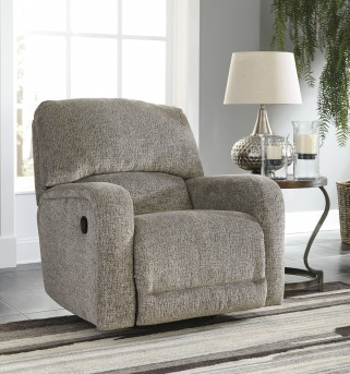 Ashley Pittsfield Fossil Swivel Glider Recliner Available Online in Dallas Fort Worth Texas
