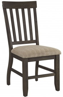 Ashley Dresbar Brown Side Chair Available Online in Dallas Fort Worth Texas