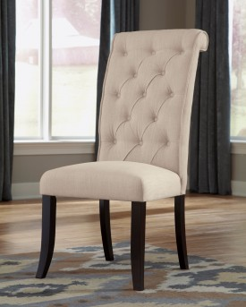 Ashley Tripton Cream Side Chair Available Online in Dallas Fort Worth Texas