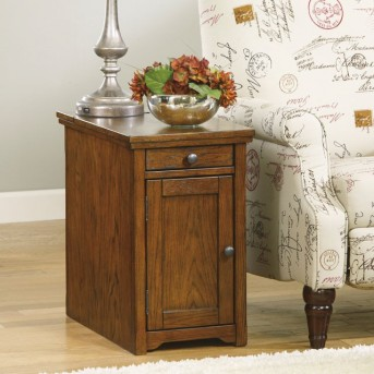 Ashley Laflorn Brown Chair Side Table Available Online in Dallas Fort Worth Texas