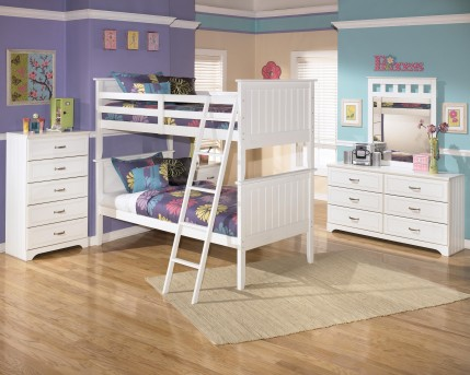 Ashley Lulu 5pc Twin/Twin Bunk Bedroom Group Available Online in Dallas Fort Worth Texas