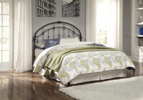 Ashley Nashburg Queen Metal Headboard Available Online in Dallas Fort Worth Texas