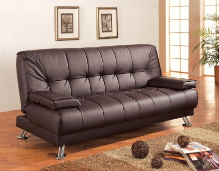 Coaster Braxton Brown Sofa Bed Available Online in Dallas Fort Worth Texas