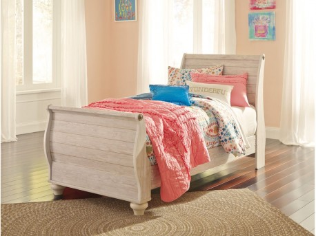 Willowton Twin Sleigh Footboard Available Online in Dallas Fort Worth Texas