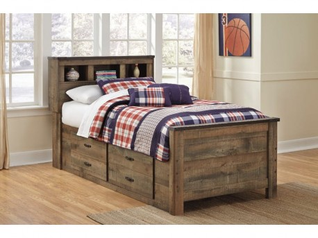 Ashley Trinell Under Bed Storage With Side Rail Available Online in Dallas Fort Worth Texas