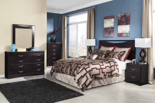 Ashley Zanbury 5pc King Panel Bedroom Group Available Online in Dallas Fort Worth Texas