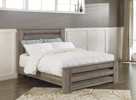 Ashley Zelen Queen Poster Bed Available Online in Dallas Fort Worth Texas