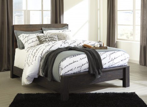 Ashley Windlore Queen Panel Bed Available Online in Dallas Fort Worth Texas